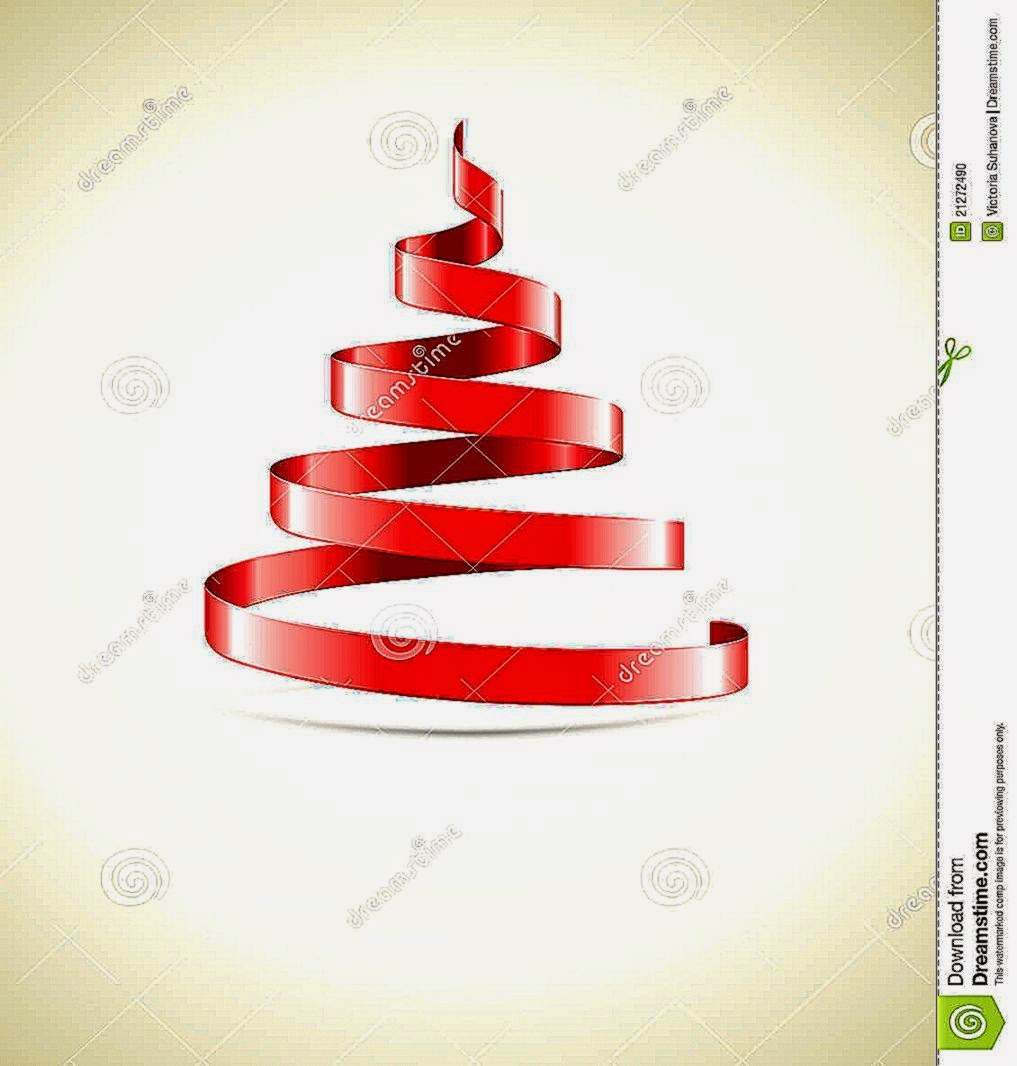 Red ribbon christmas tree best wallpapers for Red ribbon around tree