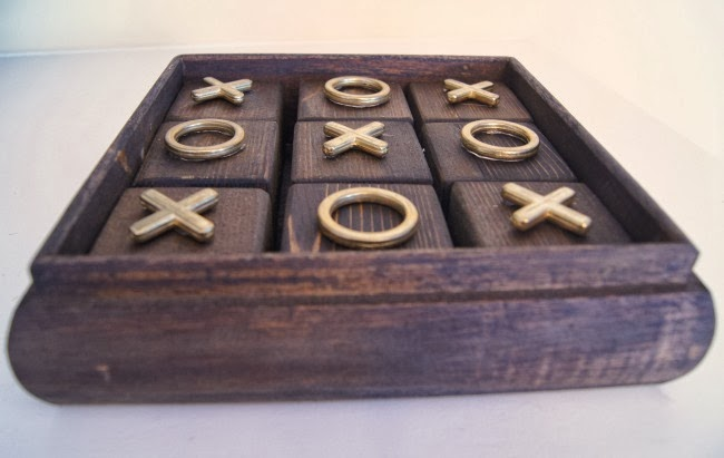 How to DIY Tic Tac Toe Board Game