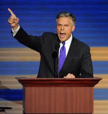 Huntsman Declares In Joisy...