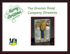Grecian Soap Giveaway