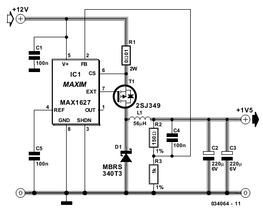 Converter Circuit Diagram
