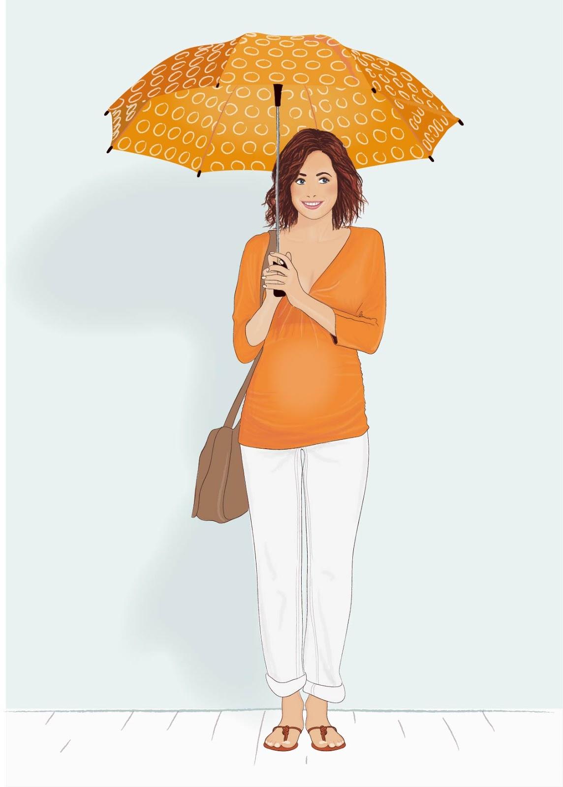 Emily Kiddy: Fashion Illustration .10 - Vertbaudet Maternity
