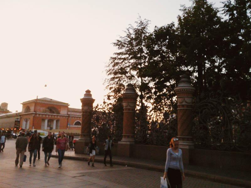 sunset Питер СПб закат вечером