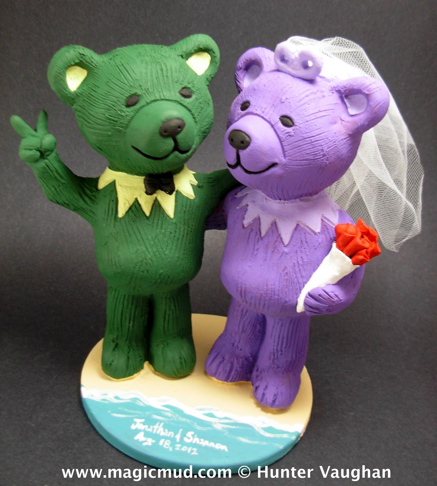 Bears Wedding Cake Topper