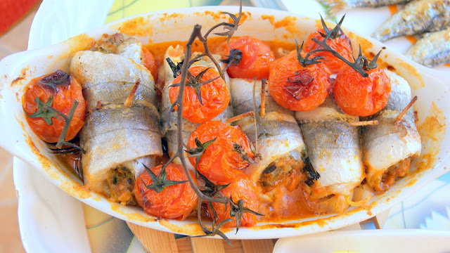 Fleur d 39 oranger masala co stuffed and baked whiting for Whiting fish recipes baked
