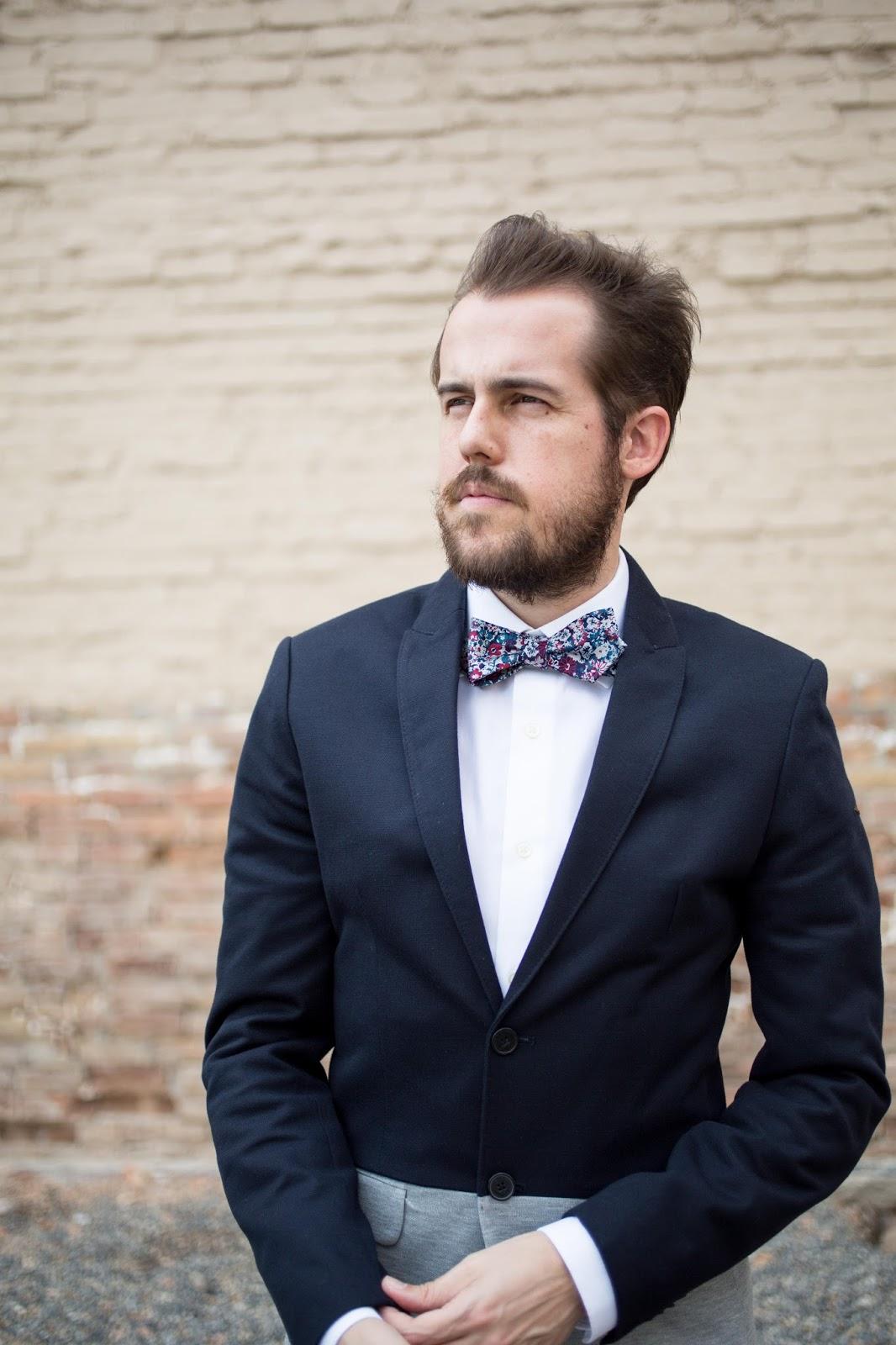 Weekend Casual bow-tie Zara color block blazer