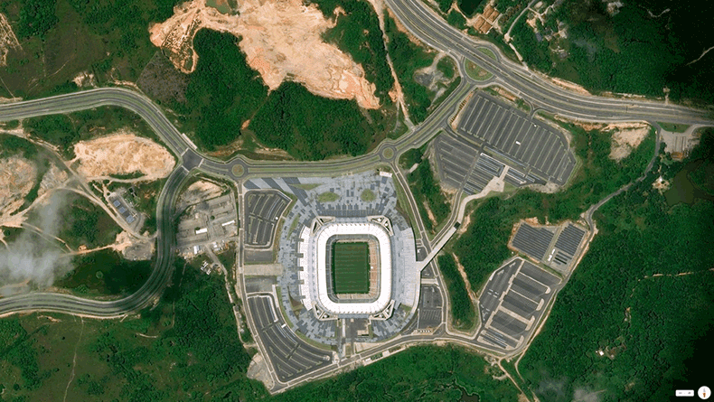 Foto mozzafiato: Brasile: Pernambuco - Itaipava Arena