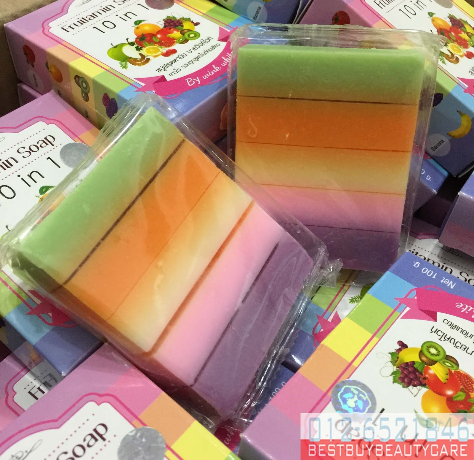 Product Kecantikan Murah Fruitamin All Soap Super Whitening Skin By Wink White
