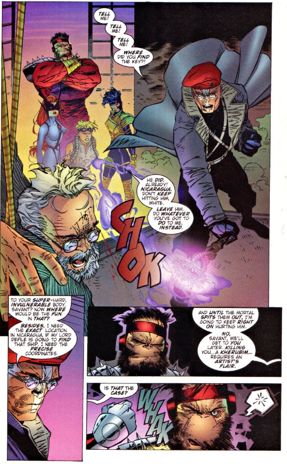 WildC.A.T.s 20 Mr. White James Robinson Dialogue