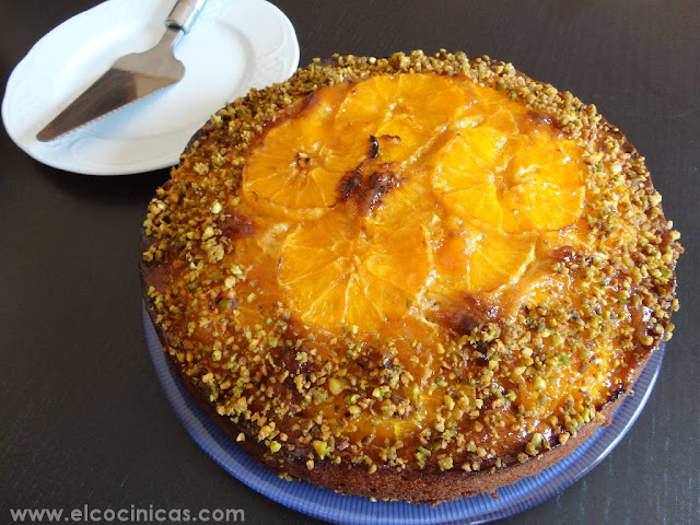 Pastel de naranjas