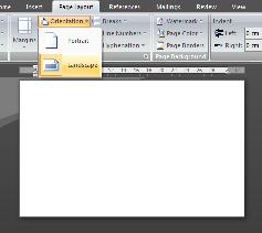 beri Border pada halaman kertasnya, caranya : klik Page Border ...