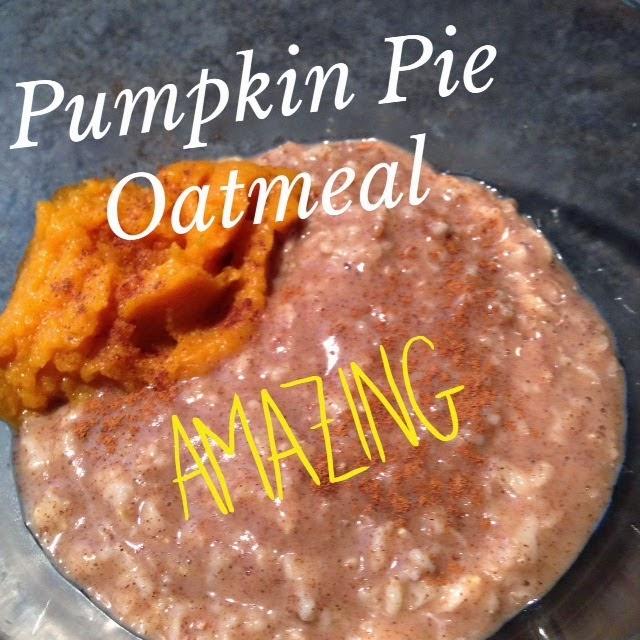 Healthy Breakfast, Oatmeal Recipes, Pumpkin Pie Oatmeal