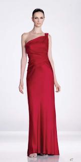vestido rojo largo KH