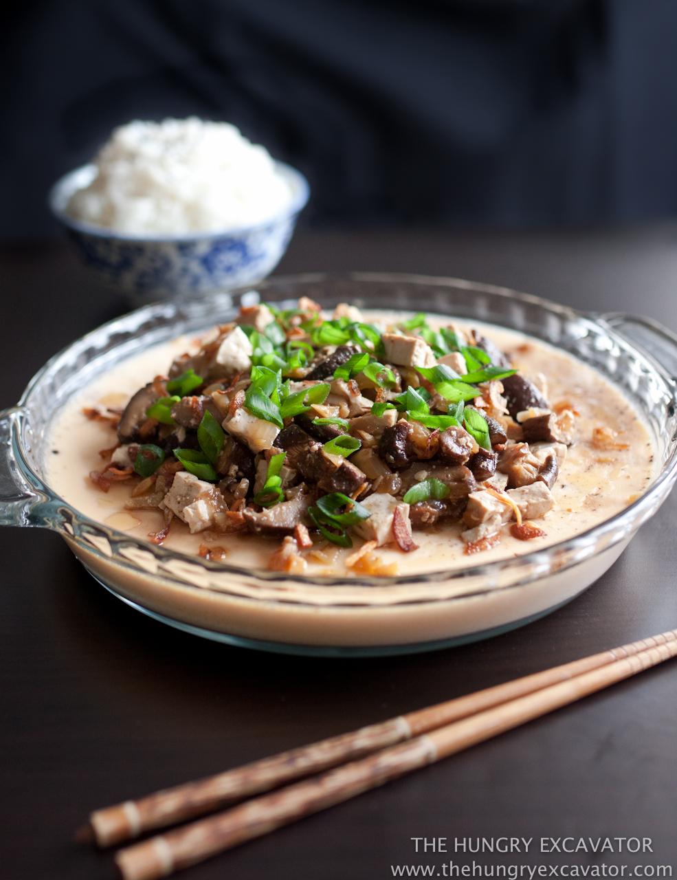 Chinese Steamed Egg Custard Recipe