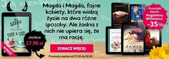 Virtualo ebooki Magdaleny Witkiewicz promocja 35%