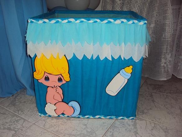 Caja de regalo shower de varon - Imagui