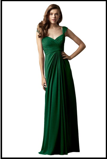 emerald bridesmaid