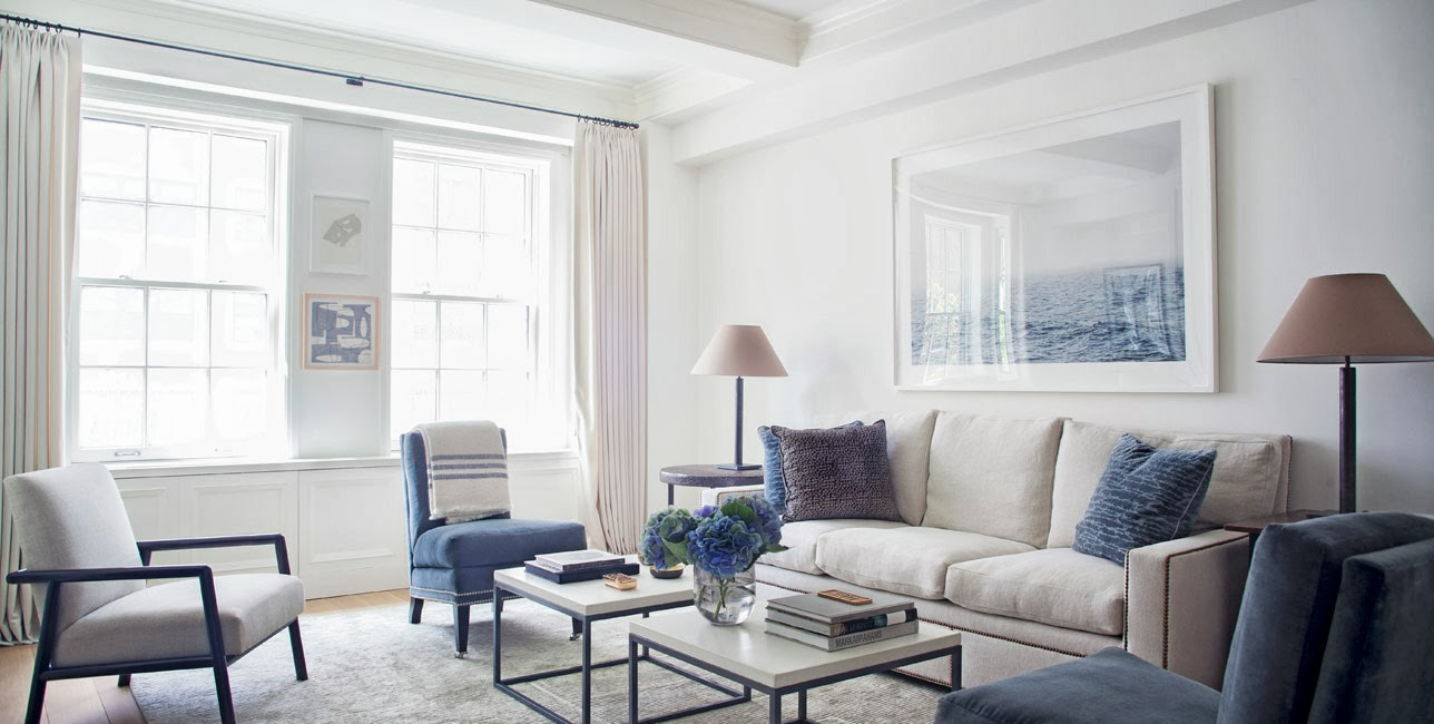 The hamptons living in nyc for Hamptons living room designs