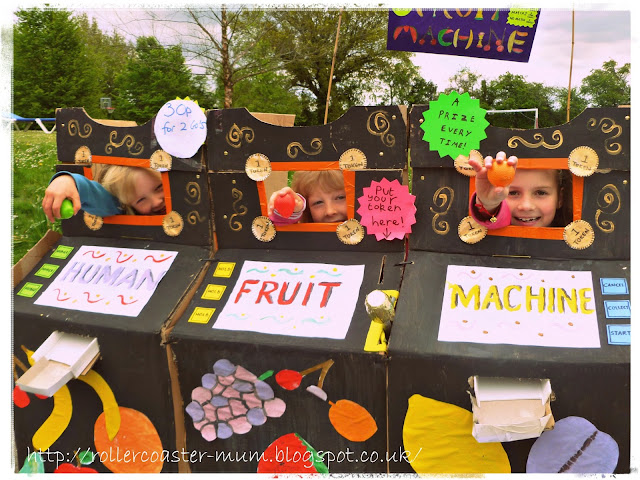 Fundraising ideas - Human Fruit Machine
