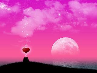 Enamorados mirando el cielo estrellado
