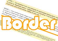 Membuat Kotak atau Border pada Kalimat