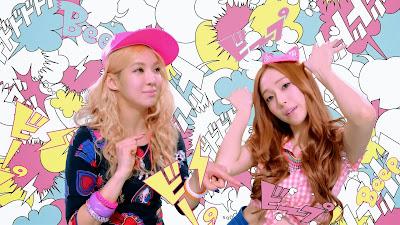 girls generation hyoyeon jessica beep beep