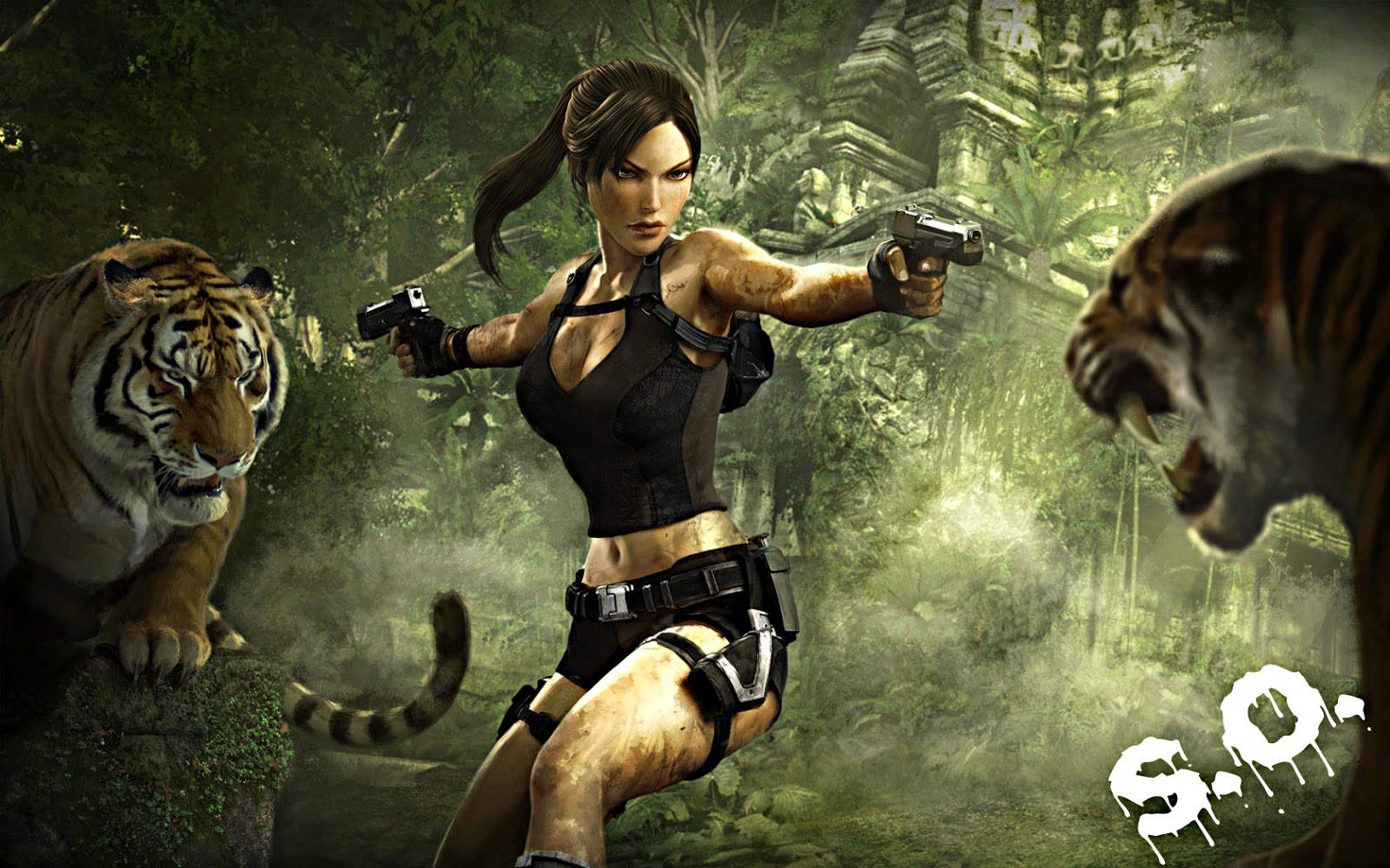 Tomb Raider Underworld      252  3 linkte indirece  iz    ndirdi  imiz    Tomb Raider Anniversary Wallpaper