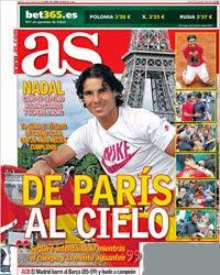 Roland Garros 2012 Rafa Nadal