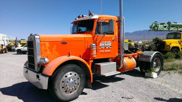 1966 Peterbilt Day Cab Truck Old Truck