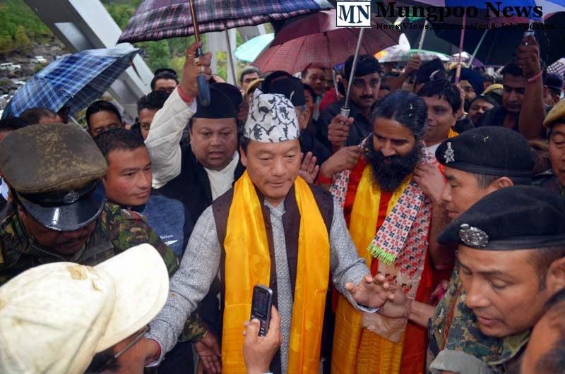 Baba Ramdev Bimal Gurung at Riyangtar Jogighat