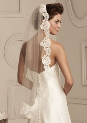 wedding Mantilla+Veil