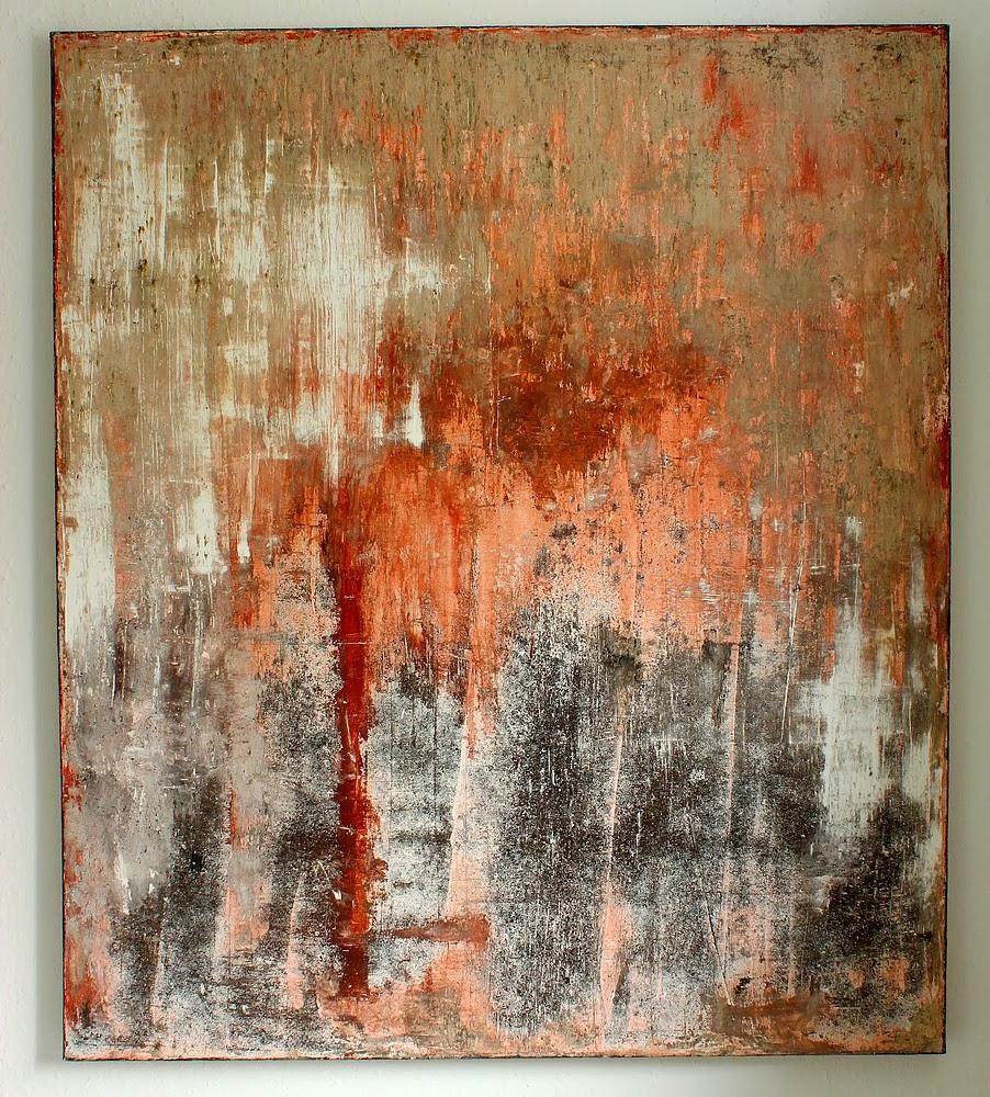 Acrylic Painting On Driftwood
