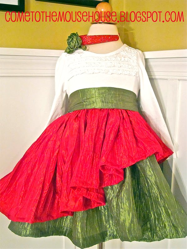 The Mouse House Christmas Dress: Sewing Tutorial ...