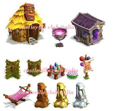 Castleville nuove decorazioni e costumi - Porta portese regali ...