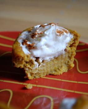 Pumpkin Pie Cupcakes from Baking Bites