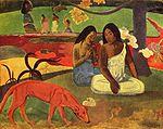 Paul Gauguin, Joyeusetés 1892