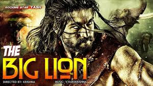 The Big Lion Gajakesari full movie (2015) in Hindi watch online