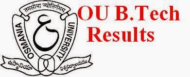 OU B.Tech Results