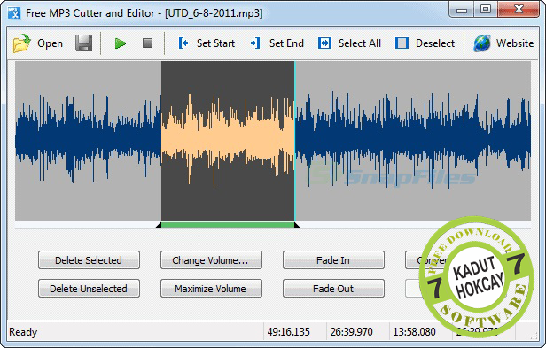 Download MP3 Cutter and Editor 2.6.0 Build 2401 Terbaru