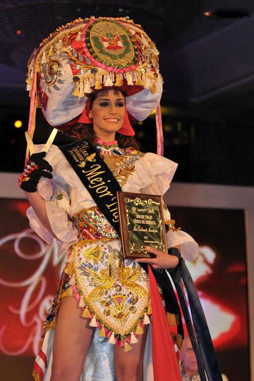 Miss Peru 2010 winner,Miss Continente Americano 2010 Winner