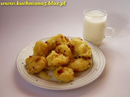 ziemniaki z kwaśnym mlekiem