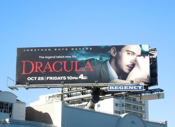 Dracula TV series billboard