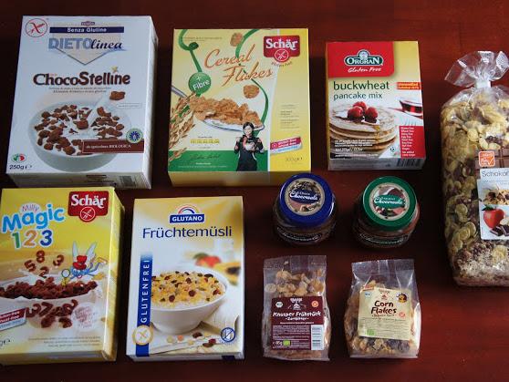 11. glutenfreie Kiste -  glutenfreies Frühstück