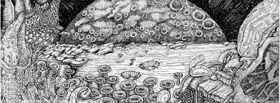 Magnifique couverture artistique pour facebook noir et blanc