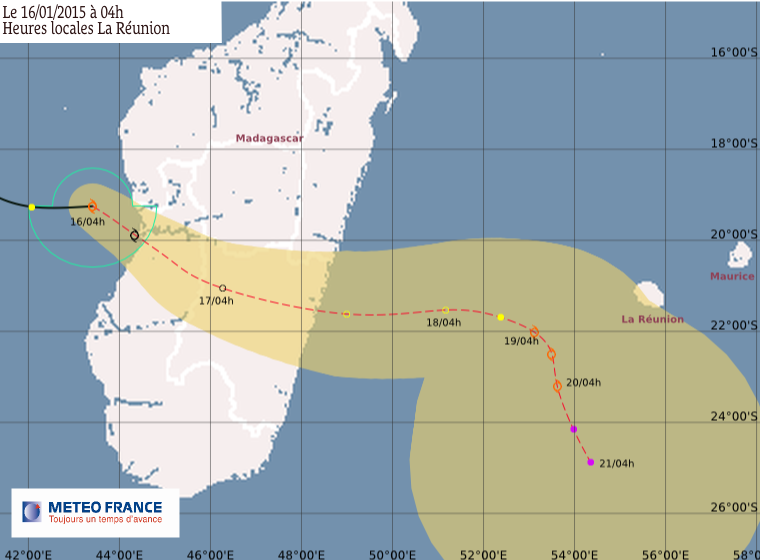 Tempête tropicale modérée Chedza
