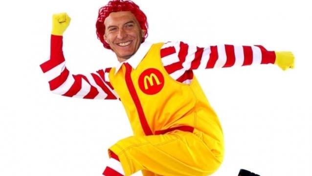Macri taló árboles del Hosp. de Niños por McDonald.