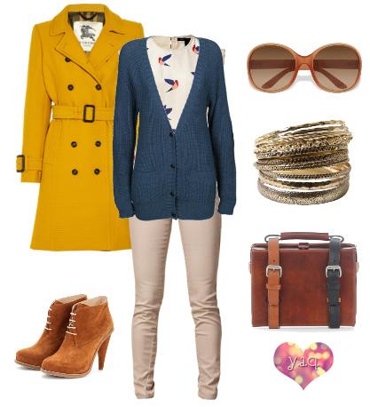 Y a q blog de moda inspiraci n y tendencias y - Que colores combinan con el amarillo ...