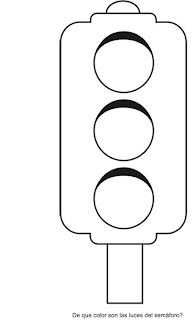 imprimir semaforo colorear: