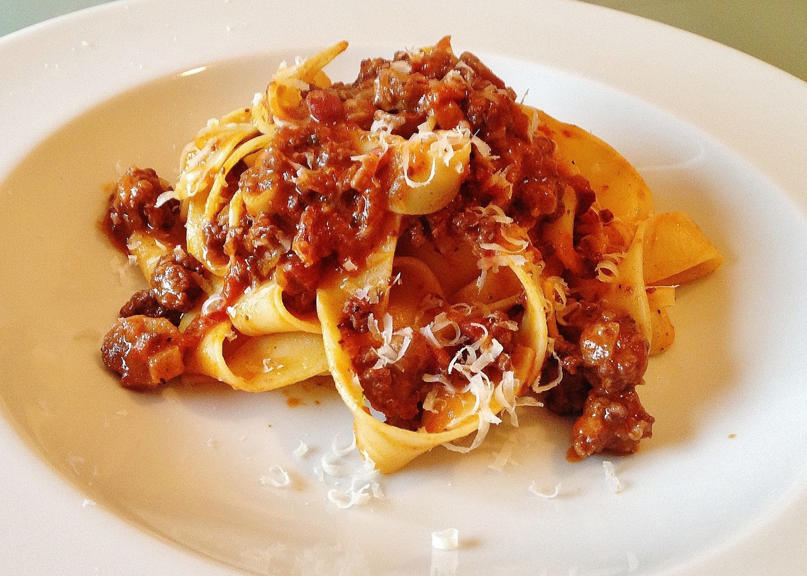 the Best Recipes: Pappardelle alla Bolognese