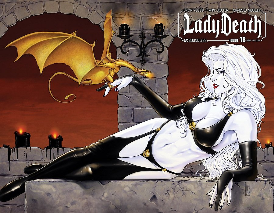 sexy wallpaper lady death 03